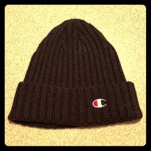 Urban Outfitters Champion Wool Blend Beanie Hat